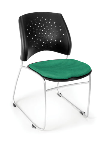 Star Stack Chair - Forest Green