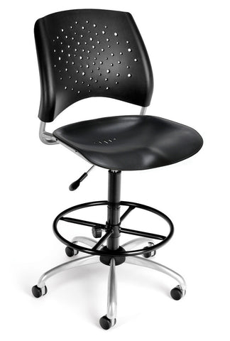 Star Swivel Chair - Blk with DKit