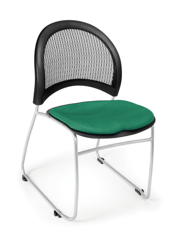 Moon Stack Chair - Shamrock Green