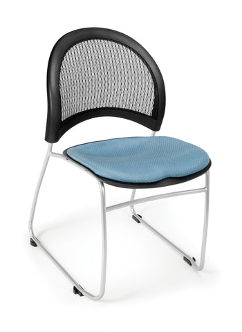 Moon Stack Chair - Cornflower Blue