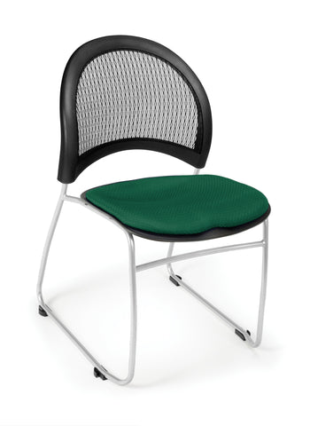 Moon Stack Chair - Forest Green