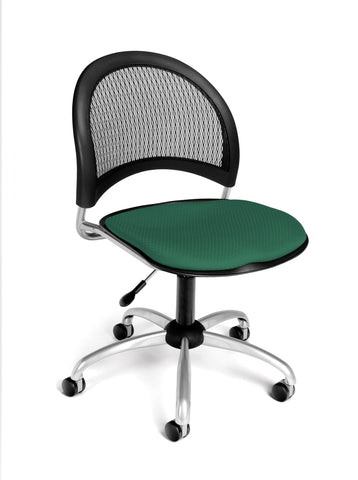 Moon Swivel Chair - Shamrock Green