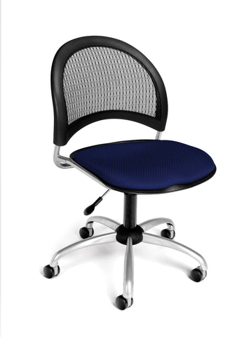 Moon Swivel Chair - Navy