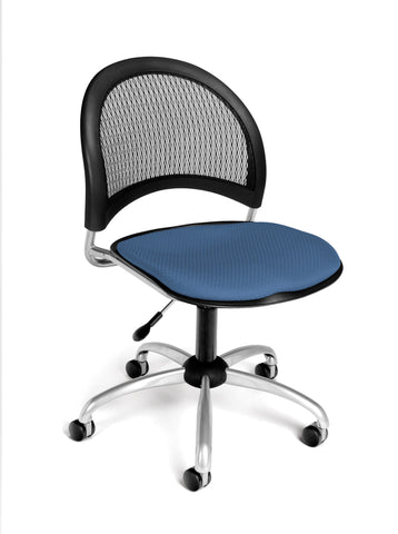 Moon Swivel Chair - Cornflower Blue