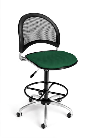 Moon Swivel Chair - Forest Green