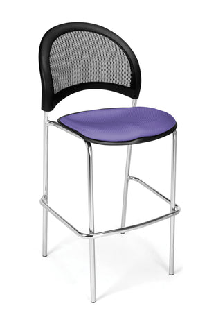 Moon Cafe Hgt Chair-ChrBase-Lavender