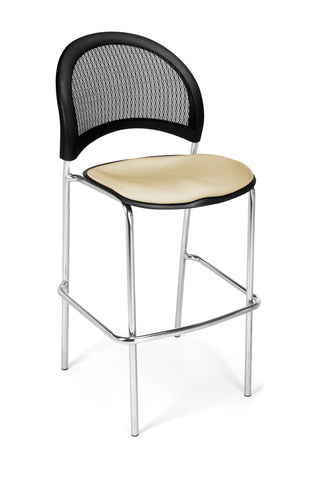 Moon Cafe Hgt Chair-ChrBase-Khaki