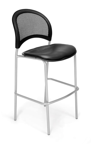 Moon Cafe Hgt Chair-Silver-VAM-Charcoal