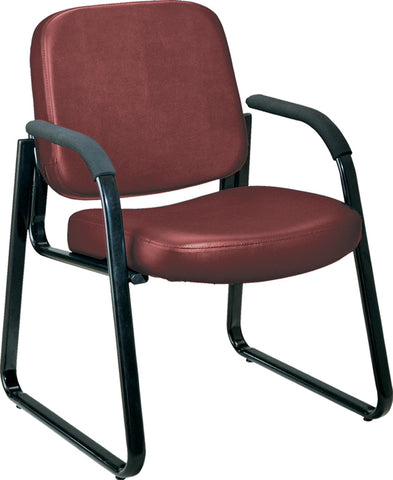 GUEST CHAIR - 603 - WINE AM VINYL