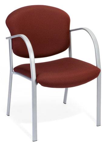 CONTRACT GUEST CHAIR - 63-BURGUNDY