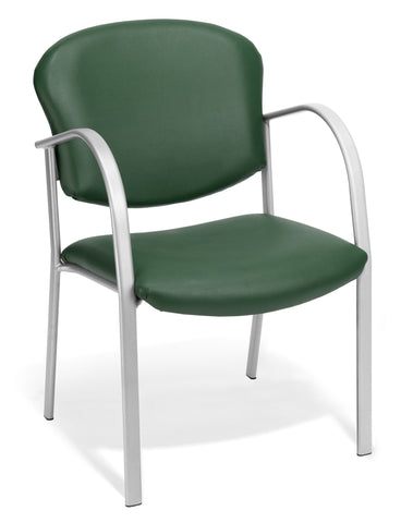 CONTRACT GUEST CHAIR VINYL - 602-TEAL