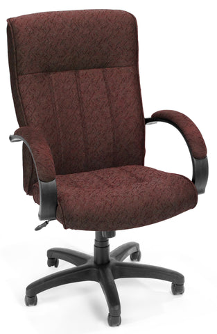 Exec/Conf Chair Hi Back - 2335-BURGUNDY