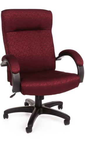 Exec/Conf Chair Hi Back - 303 BURGUNDY