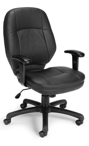 ERGONOMIC TASK CHAIR WITH ADJUSTABLE ARM