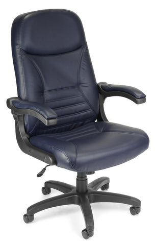 MOBILEARM EXEC/CONF NAVY LEATHER