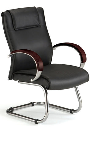 APEX EXECUTIVE GUEST LEATHER-MAHOG