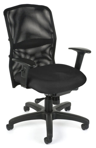 AIRFLO EXEC/CONF CHAIR-BLACK