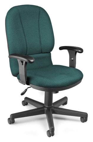 EXEC TASK CHAIR 240 TEAL