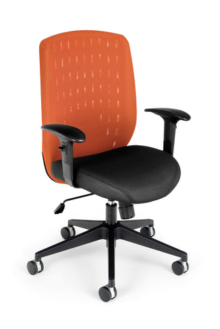 Vision Executive Chair - Tangerine