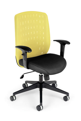 Vision Executive Chair- Buttercup Yellow