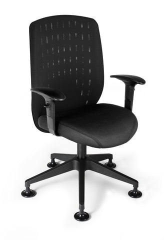 Vision Exec Guest Chair - Black