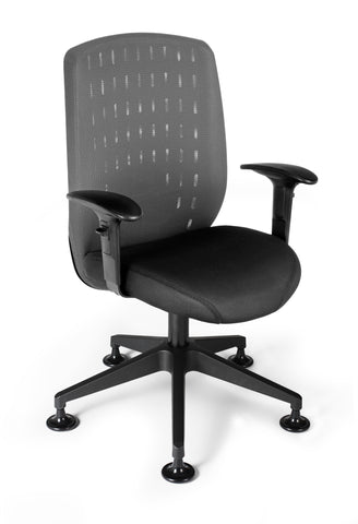 Vision Exec Guest Chair-Charcoal