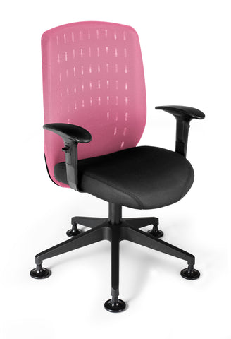 Vision Exec Guest Chair - Pink