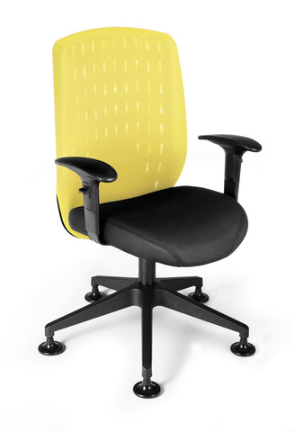 Vision Exec Guest Chair-Buttercup Yellow