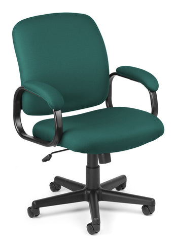 LO-BACK EXEC CHAIR - TEAL