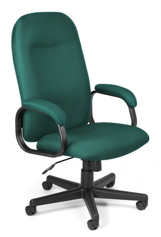 HI-BACK EXEC CHAIR - TEAL