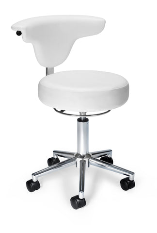 WHITE-VINYL ANTI-MICROBIAL/BACT ANATOMY CHAIR