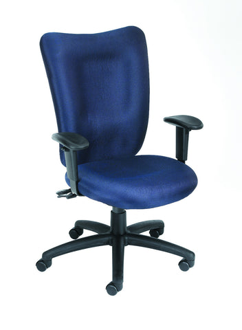 Boss Blue Task Chair With 3 Paddle Mechanism