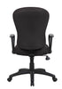 Boss Black Task Chair With Loop Arm