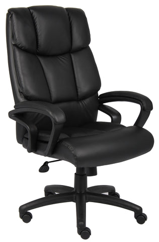 "Boss ""Ntr"" Executive Top Grain Leather Chair"