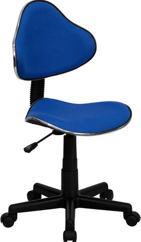 Blue Fabric Ergonomic Task Chair [BT-699-BLUE-GG]