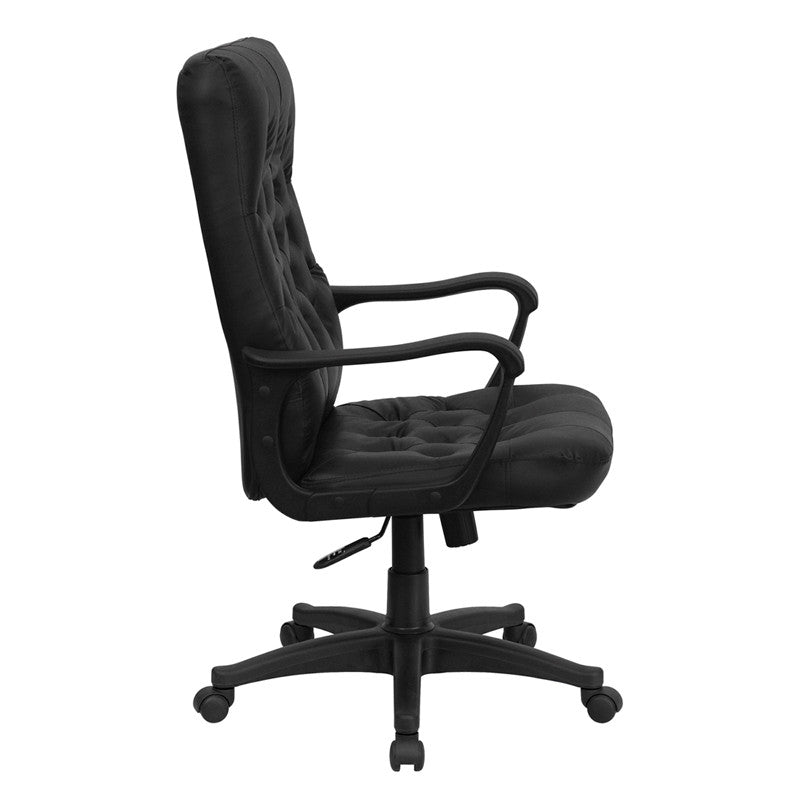 Surprising High Back Traditional Black Leather Executive Swivel Office Chair Cp A136A01 Gg Download Free Architecture Designs Osuribritishbridgeorg