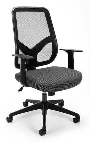 MESH EXECUTIVE/CONFERENCE CHAIR B/W FAB
