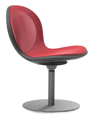 NET SWIVEL BASE CHAIR - RED