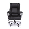 BIG & TALL TABLET CHAIR BLACK BONDED LEATHER