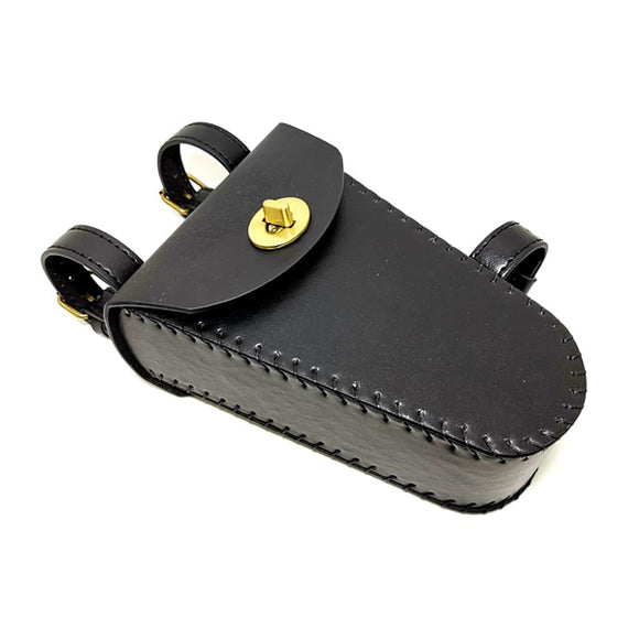 Aitken Saddle Bag Black