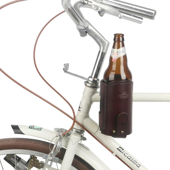 Hudson Vegan Leather Bottle Holder