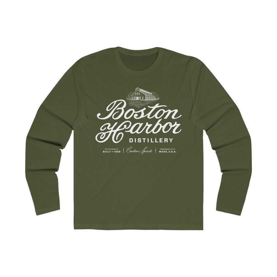 Men's Boston Harbor Distillery Long Sleeve Crew Tee