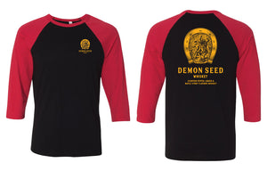 Demon Seed Whiskey Baseball Tee