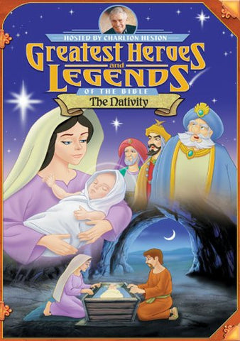 Greatest Heroes & Legends of the Bible: The Nativity [DVD]