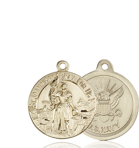 14kt Gold St. Joan of Arc Medal