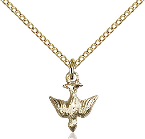 Gold Filled Holy Spirit Pendant