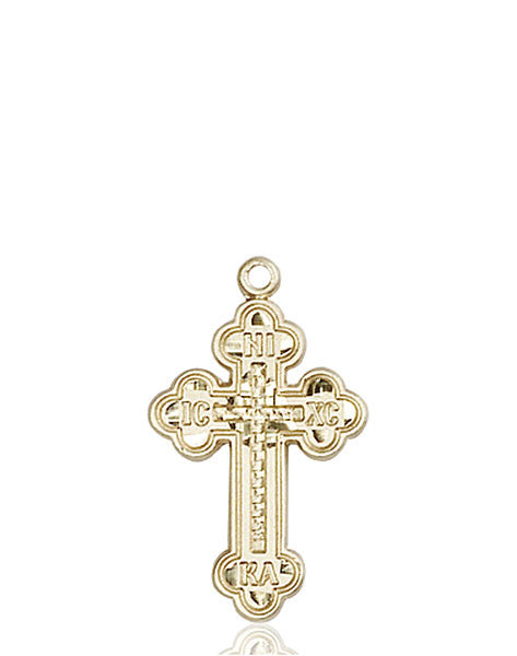 14kt Gold Russian Cross Medal