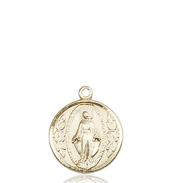 14kt Gold Miraculous Medal