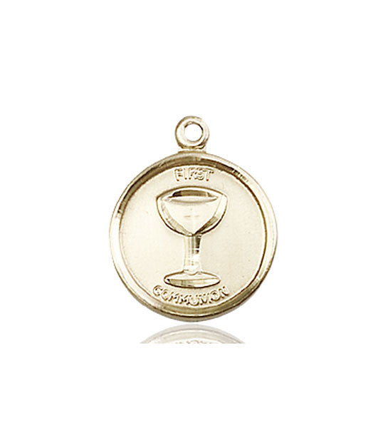 14kt Gold Communion Medal