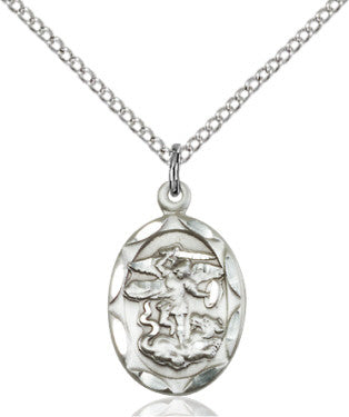 St. Michael the Archangel Medal Silver-filled